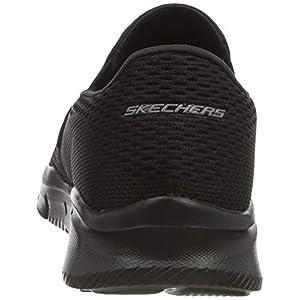 Skechers mens Equalizer Double Play Slip On Loafer, Black, 11 Wide US