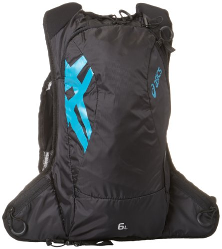 ASICS Fujitrail Backpack, Performance Black, All
