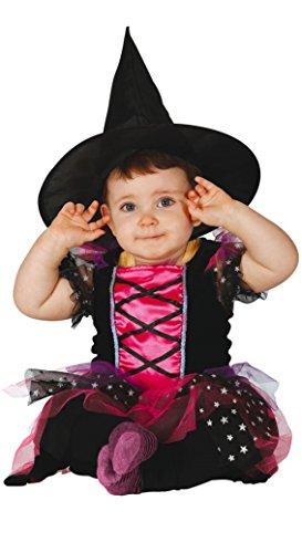 Guirca - 83037 - Déguisement pour fille - Couleur : rose, noir, 12 à 24 mois.