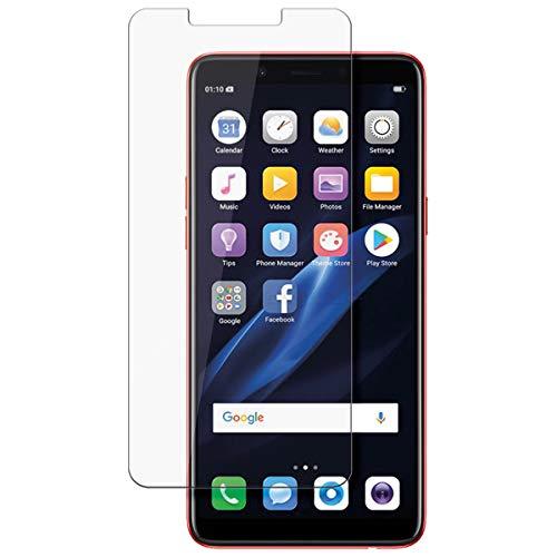disGuard Protecteur d'écran [Crystal-Clear] Compatible avec Oppo F7 Youth [2 Pièces] Limpide, Transparent, Invisible, Extrêmement résistant, Anti-Empreinte Digitale - Film Protecteur