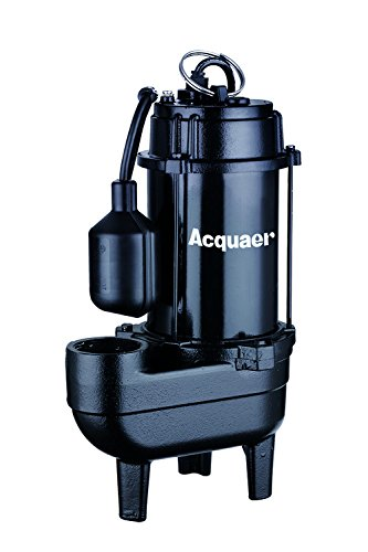 Acquaer 1/2 HP Durable Cast iron Sewage Pump