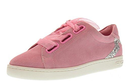 Fornarina Scarpe Donna Sneakers Basse PE18AN2893S066 Taglia 39 Rosa