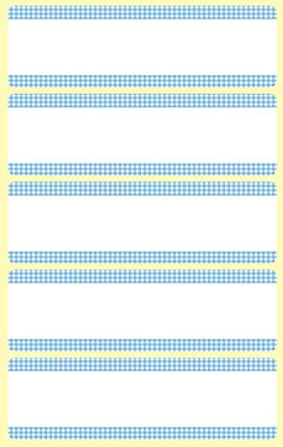 AVERY Zweckform 59375 GefrierEtiketten temperaturbeständig bis zu -20°C 25 Aufkleber weiß blau