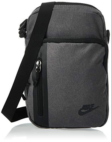 Nike NK TECH S Items Gym Bag, Dark Grey/Black/(Black), MISC