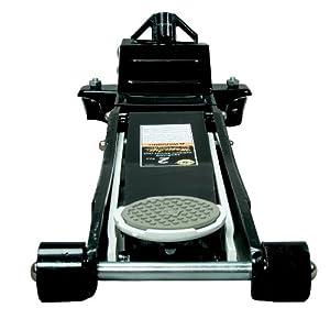 Omega 29023 Magic Lift Black Low Profile Hydraulic Service Jack - 2 Ton Capacity