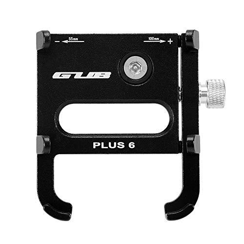 Power adapter GUB Plus 6 Bike Telefoon Mount Houder Fiets Fietsen Aluminium Verstelbare Stuur Extender Voor 2.1