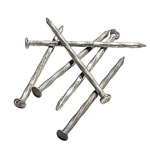 "Spiral Shank Nails Hot Dipped Galvanized 10d 3"" - 1 Box 3.3lb (7.62cm - 1.5kg)"