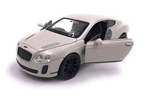Welly Bentley Continental Supersports Model Car Miniature Car Licenza prodotto 1: 34-1: 39 Beige