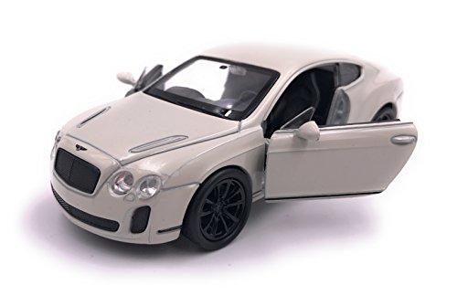 H-Customs Bentley Continental Supersports Modellauto Miniatur Auto Lizenzprodukt 1:34-1:39 Beige