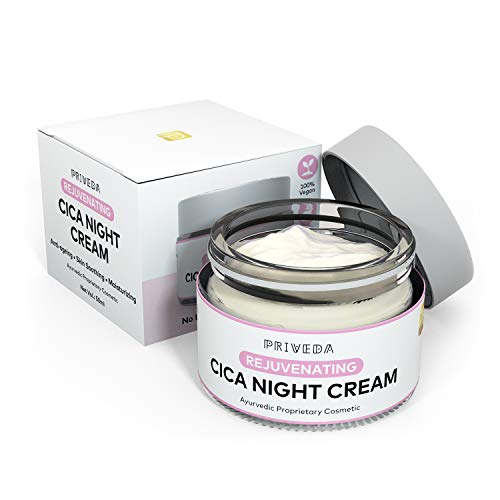 AUUR PRIVEDA Cica Rejuvenating Night Face Cream Moisturizer Anti-Ageing Anti-Wrinkles 50ml