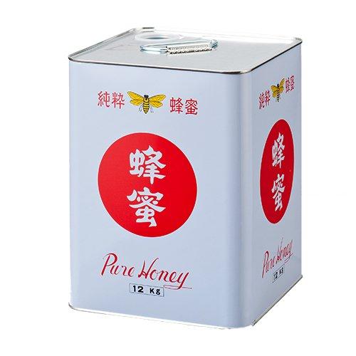 中国産純粋はちみつ(12kg缶詰)
