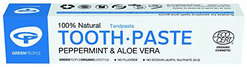 Green People Tandpasta Natural Mint Ecocert, 50 ml