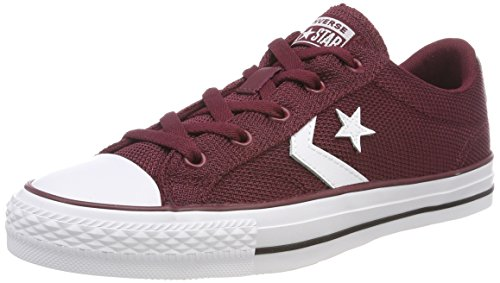 Converse Star Player OX, Zapatillas Unisex Adulto, Rojo (Dark Burgundy/White 628), 39 EU