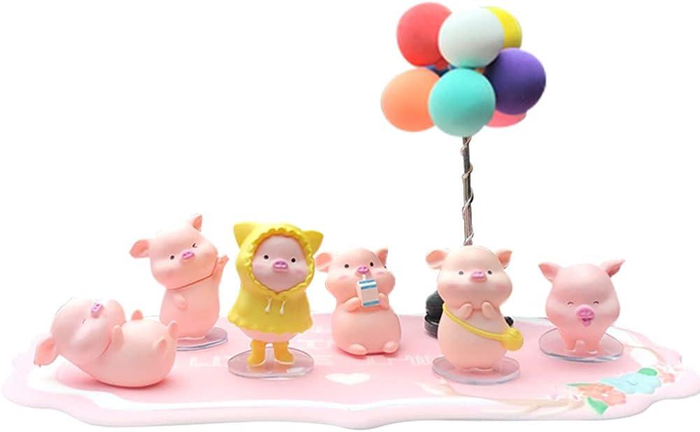 Max 85% OFF Zcargel Car Cartoon Sales Ornaments Cute Piggy Decorations Da