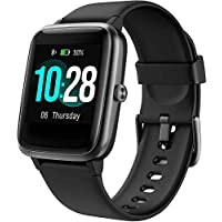 Arbily Waterproof Fitness Tracker Smartwatch with Heart Rate Monitor