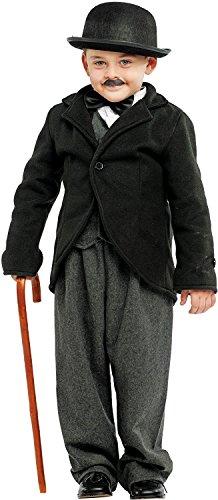 chiber Disfraces Disfraz de Pequeño Charlot (Talla 4)