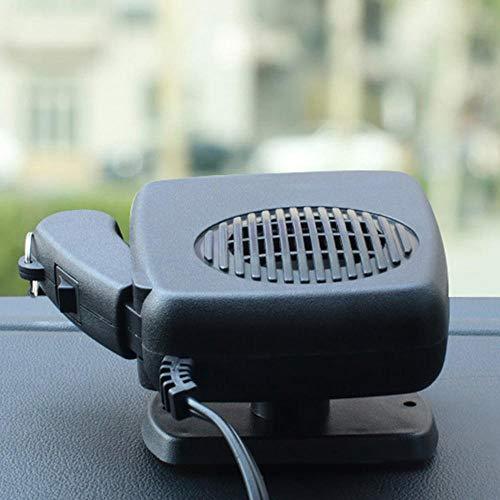 Womdee Chauffage Voiture Ventilateur 12V, Dégivreur de Dégivrage de Pare-Brise Portatif avec Poignée Ergonomique,Ventilateur de...