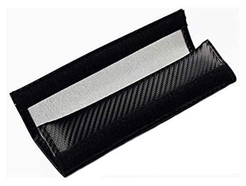 HLHS Ajustable 2 PCS Cubiertas de cinturón de Seguridad para Ciudades de Jazz Civic Civic Tipo-R Fibra DE Carbono Padres BORROS BORROS Interior AUTOMOTIVO 0107