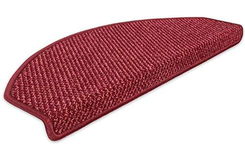 Kettelservice-Metzker Stufenmatte Treppenmatte Vorwerk Lord Halbrund Bordeaux 1 Stück