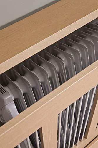 Intradisa 3121 - Cubre radiador, Roble, 120 cm de ancho