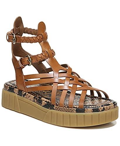 [サムエデルマン Sam Edelman] シューズ 23.0 cm サンダル Women's Geana Gummy Bottom Sandals Saddle レディース [並行輸入品]