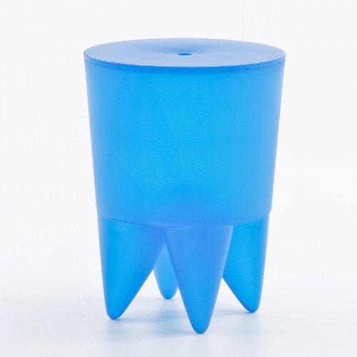 XO Design Bubu Ier Hocker, Azure blau halbtransparent H 43cm Ø 32,5cm