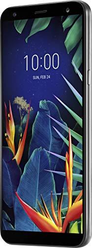 LG K40 LMX420EMW Dual-SIM 32GB (GSM Only | No CDMA) Factory Unlocked 4G/LTE Smartphone (Platinum Gray) - International Version