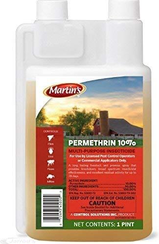 Control Solutions 82004501 Permethrin 10% Multi-Purpose Insectcide