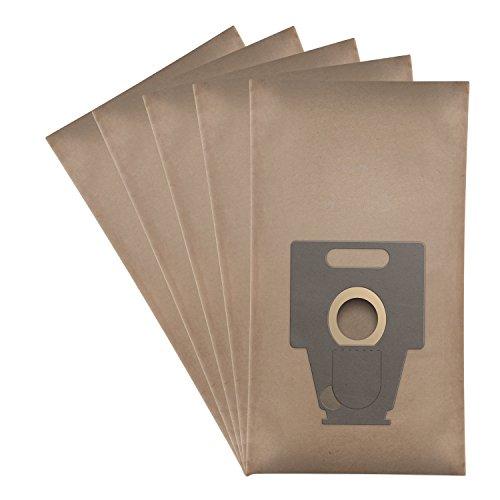 Wessper® Staubsaugerbeutel für Bosch BSG8PRO2/09 (5 Stück, Papiersäcke)