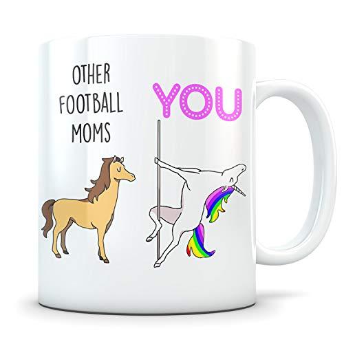 Alicert5II Voetbal-mom-geschenken voetbal-mom-beker voetbalgeschenk voor vrouwen voetbalmom-cadeau grappig voetbal-moeder-voetbal-mama-voetbal-koffiemok