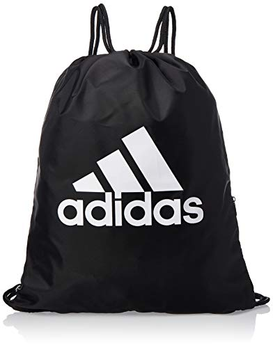 adidas Gymsack SP Sports Bag, Black/Black/White, NS