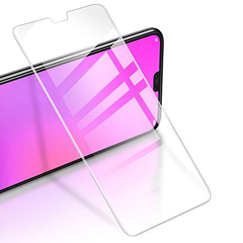 RIWNNI [3 Stück Panzerglas für Huawei P20 Lite, 9H Härte Panzerglasfolie, HD Klar Displayschutz Glas Folie 0.25mm Ultra Dünn Schutzfolie Blasenfrei für Huawei P20 Lite - Transparent
