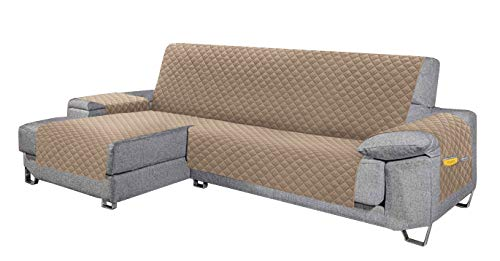 Cabetex Home - Cubre sofá - Chaise Longue - Reversible