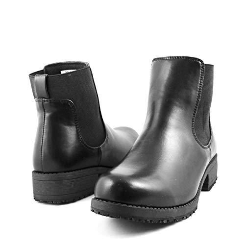 Laforst Women's Jules 291 Slip Resistant Work Ankle Boots 8.5 Black