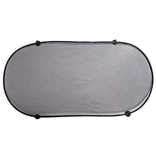 Lumanuby Sonnenschutz Autozubehör Heckscheibe Sonnenschutz Auto Sonnenschutz für die meisten Autos,Tragbar und Faltbar, Schwarz Farbe