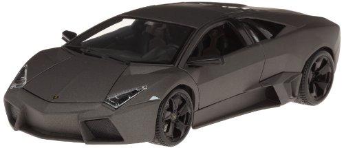 BBurago - 11029 - Voiture sans pile - Reproduction - Lamborghini Reventon - Echelle 1:18 - Gris