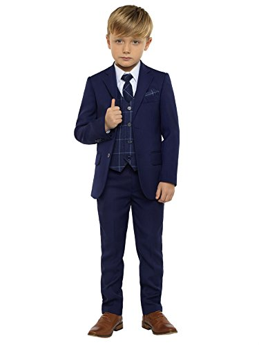 Paisley of London Jungen Anzug blau * Gr. 9 Jahre, Navy
