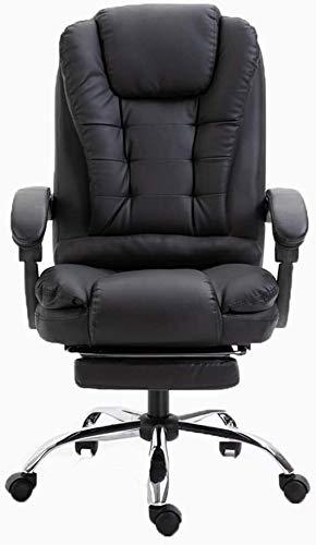 DAGCOT Silla de la computadora de Escritorio de Oficina con Reposapies Oficina Ordenador Gamer sillas ergonómicas de Oficina de garantía del Amortiguador Ajustabl