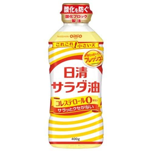 日清オイリオ 日清サラダ油 400gペットボトル×10本入×(2ケース)