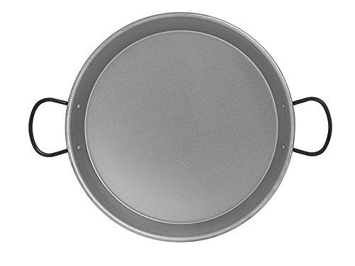 Imex der Fuchs 63044poliert Paella-Pfanne für Induktion, 38cm