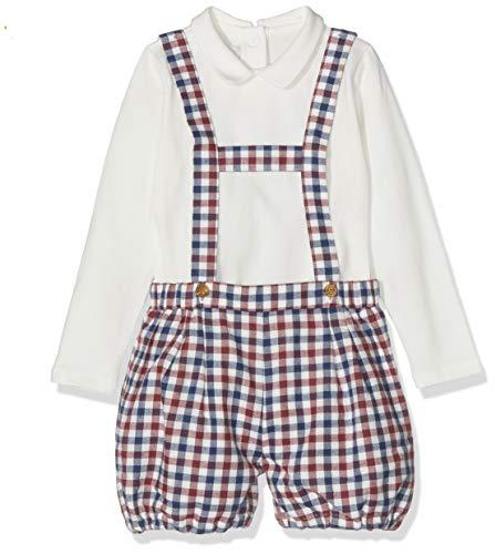 Chicco Baby-jongens Completo Body Con Salopette Corta kledingset