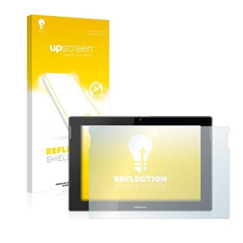 upscreen Entspiegelungs-Schutzfolie kompatibel mit Medion Lifetab S10366 (MD 99781) – Anti-Reflex Displayschutz-Folie Matt
