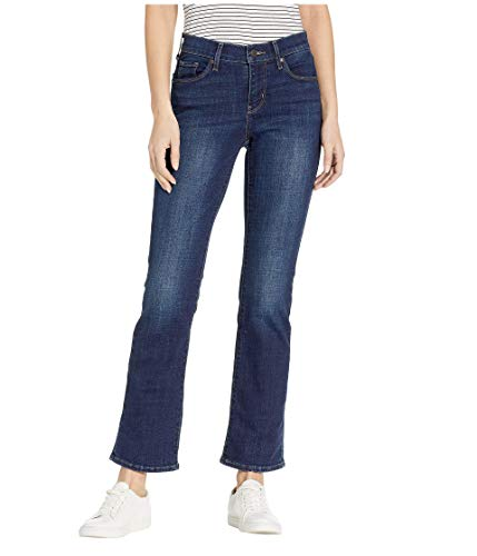 Levi's Women's Curvy Bootcut Jeans, Dark/Saturated, 26 (US 2) R