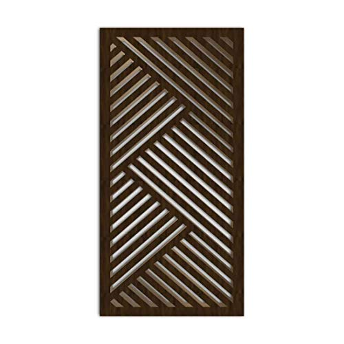 Great Features Of NISH! Decorative Carved MDF Wood Wall Panels for Room Partition, Screen, Divider, ...