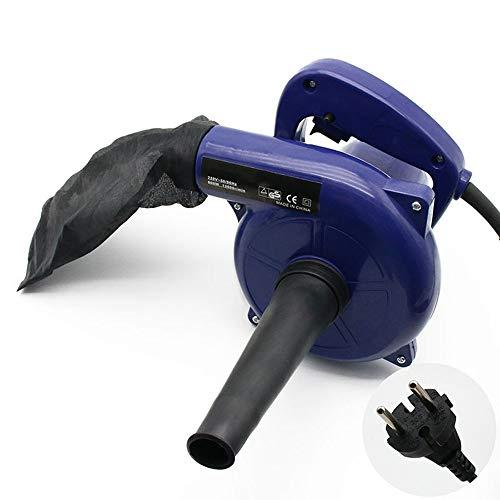 SIRUL 600W Elektro Laubsauger, 220V Industrie Laubbläser, Einhändig, leicht, mit Auffangbeutel für Staubblasen Staubstaubsammlergebläse