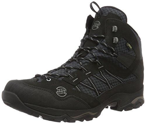Hanwag Herren Belorado Mid Winter GTX Trekking- & Wanderstiefel, Schwarz (Black), 44 EU