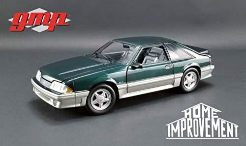 Greenlight GMP 1:18 Home Improvement (1991-99 TV Series) - 1991 Ford Mustang GT - Deep Emerald Green GMP-18920