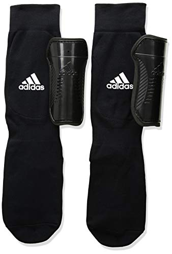 adidas Youth Sock Shin Guard Black/White L