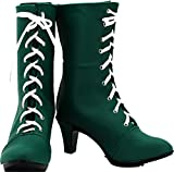MINGCHUAN Cosplay Boots Shoes for Sailor Moon Jupiter Lita