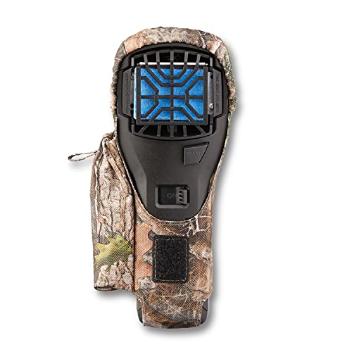 Thermacell MR300F Portable Mosquito Repeller Bundle, Black with Camo Holster, Belt Clip; Includes 12 Hours of Refills; No DEET, No Open Flame, No Mess, Scent-Free, Bug Spray Alternative